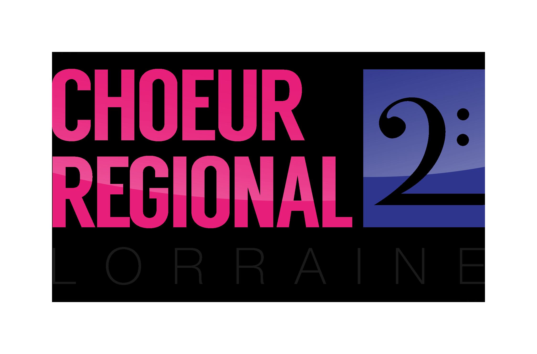 logo choeur régional de lorraine